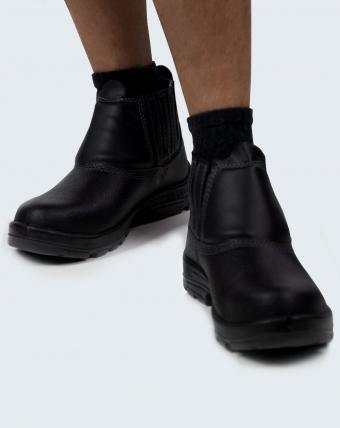 Bota Profissional Light Boot Uniforme   Preto