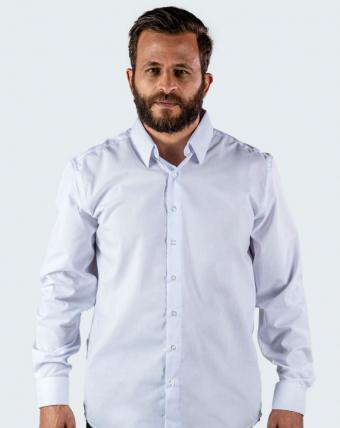 Camisa Masculina Uniforme   Branco