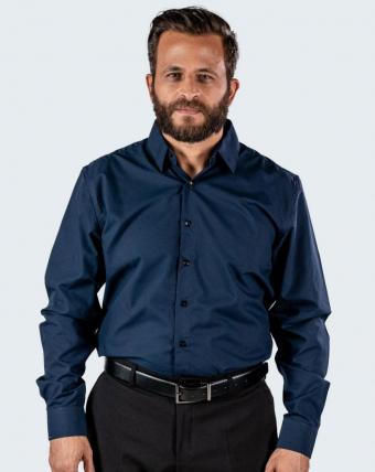 Camisa Masculina Uniforme | Marinho